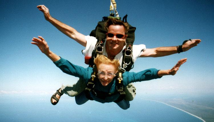 skydiving saut en parachute