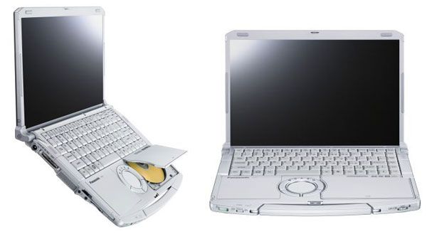 Panasonic toughbook cf-f9 de face et deprofil