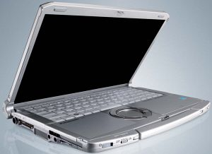 Panasonic toughbook cf f9 ouvert Un pc portable extra rsistant !