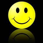 logo smiley humour qui sourit