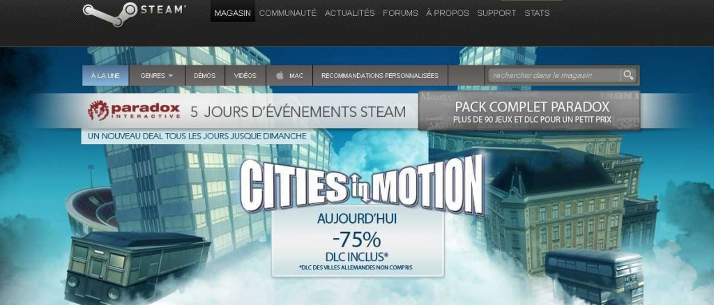 promotion steam  1024x438 Cest partit pour les promotions Paradox sur Steam