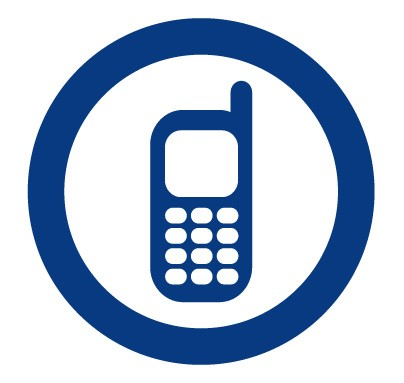 telephone gsm mobile phone logo