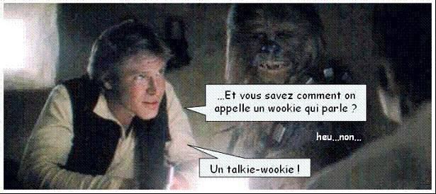un wookie qui parle