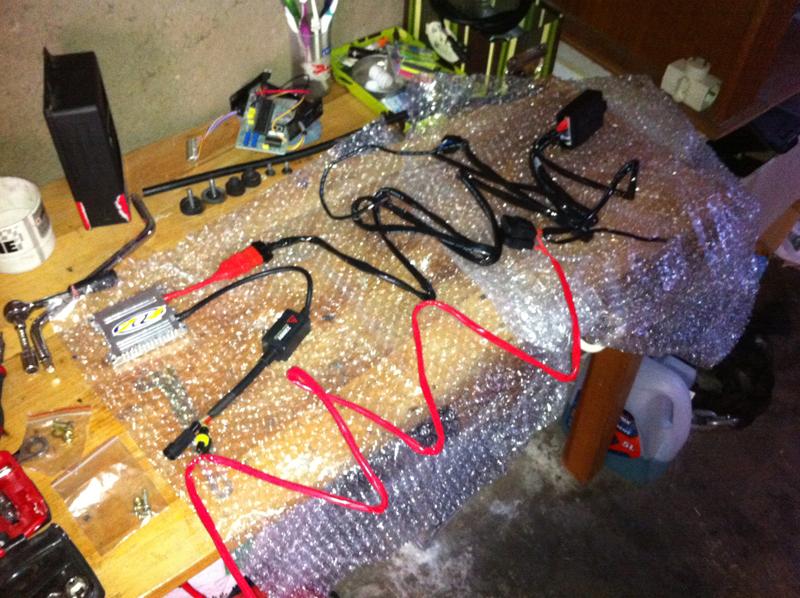 cablage kit xenon h4
