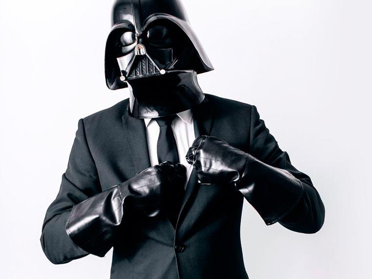 dark vador va au travail